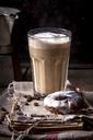 Latte Macchiato with donut - SBDF03428