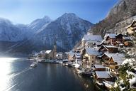 Austria, Upper Austria, Salzkammergut, Hallstatt, Lake Hallstatt - WWF04008