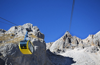 Austria, Styria, Salzkammergut, Dachstein massif, Dachstein glacier lift - WWF04014
