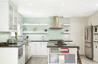Interior of a modern kitchen - MFRF01063