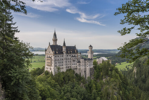 Germany, Bavaria, Neuschwanstein Castle - RPS00067