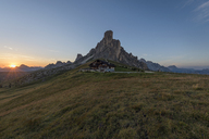 Italy, Alps, Dolomites, Passo di Giau at sunrise - RPSF00100