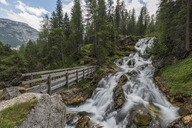 Italy, Alps, Dolomites, Waterfall of fiames - RPSF00103
