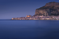 Italy, Sicily, Cefalu in the evening - EPF00479