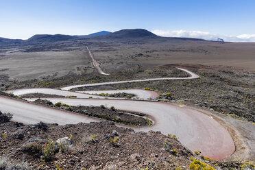 Reunion, Reunion National Park, Piton de la Fournaise, Route du volcan, Plaine des Sables, Pas des Sables - FOF09627