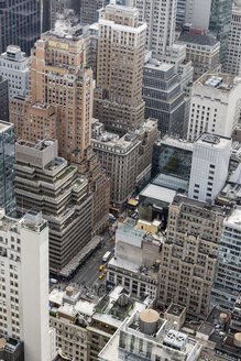 USA, New York City, Manhattan, view from Top of the Rock observation platform - RPSF00142