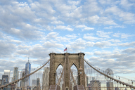 USA, New York City, Brooklyn Bridge - RPSF00148