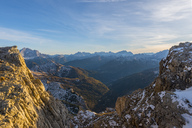 Italy, Veneto, Dolomites from Lagazuoi, Fanes-Sennes-Prags Nature Park - LOMF00682