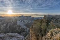 Italy, Veneto, Dolomites from Lagazuoi, Fanes-Sennes-Prags Nature Park - LOMF00685