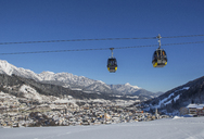 Austria, Styria, Liezen District, Schladming, Planai West cable car - WWF04122