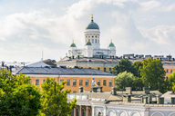 Finland, Helsinki, View to Helsinki Cathedral - CSTF01572