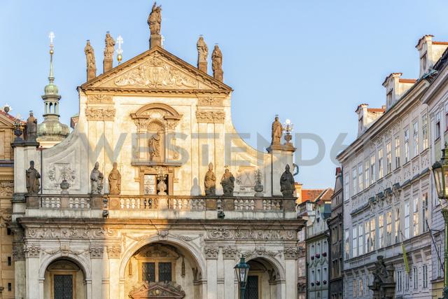 Czech Republic, Prague, Charles Bridge Museum and Salvator Church - CSTF01595