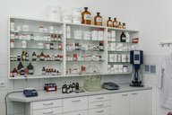 Interior of a lab in a pharmacy - MFF04316