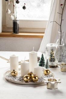 Christmas decoration on table - SBDF03435