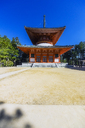 Japan, Koya-san, temple building - THAF02081