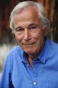 Portrait of smiling senior man wearing blue shirt - ECPF00170