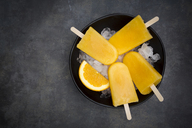 Homemade orange popsicles - LVF06604