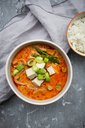 Red curry dish with smoked tofu - LVF06609