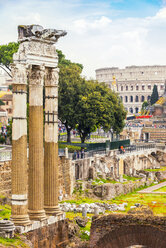 Italy, Rome, view to Imperial Forums - CSTF01601