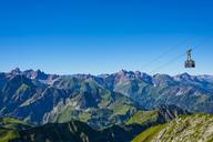 Germany, Bavaria,  Allgaeu, Allgaeu Alps, near Oberstdorf, Nebelhorn, Nebelhorn Cable Car - WGF01160