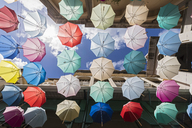 Mauritius, Port Louis, Caudan Waterfront, Umbrella Square - FOF09742