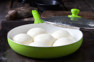 Preparing yeast dumplings - CSF28755