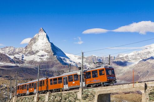 Switzerland, Valais, Zermatt, Matterhorn, Gornergrat, gornergrat railway - WD04357