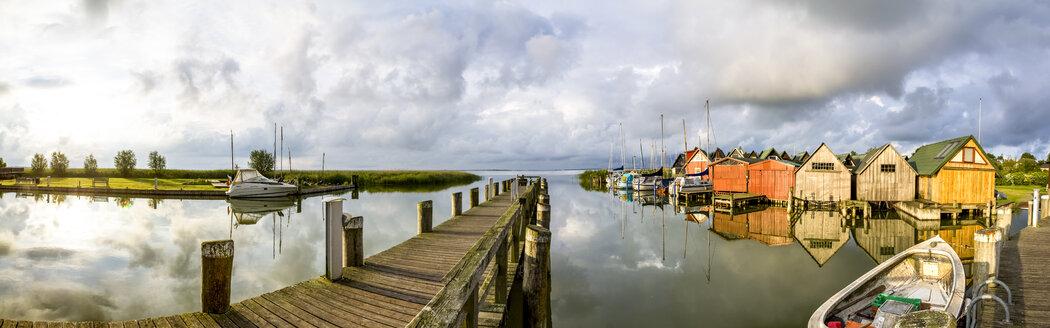 Germany, Mecklenburg-Western Pomerania, Ahrenshoop, Harbour - PUF01132
