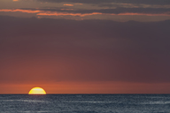 Mauritius, West Coast, Indian Ocean, Trou aux Biches, sunset - FOF09782