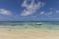 Mauritius, Flacq, East Coast, Indian Ocean, Belle Mare, boat - FOF09791