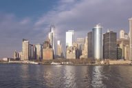 USA, New York, Manhattan, Skyline with One World Trade Center - CMF00773
