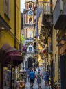 Italy, Campania, Sorrent, Bleu Village, Old town, alley - AMF05603