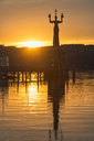 Germany, Constance, Imperia at sunrise - SHF01976