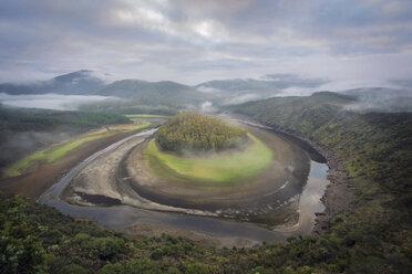 Spain, Extremadura, Las Hurdes, Meander Rio Alagon - DHCF00177