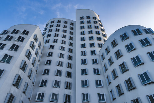 Germany, Duesseldorf, New Zollhof, facades of the Gehry Houses - FR00626