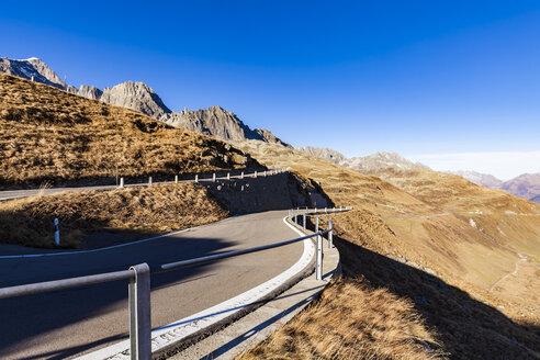 Switzerland, Valais, Alps, Furka pass - WDF04380