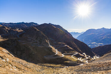 Switzerland, Valais, Alps, Gotthard pass - WDF04383