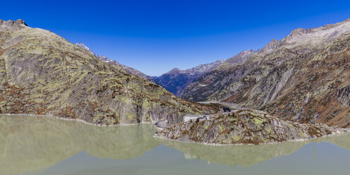 Switzerland, Valais, Alps, Bernese Oberland, Lake Grimsel - WDF04386