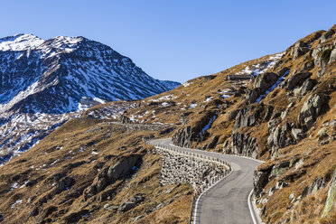 Switzerland, Valais, Alps, Furka pass - WDF04389