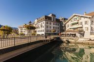 Switzerland, Bern, Bernese Oberland, Interlaken, Old town, Aare river - WDF04412