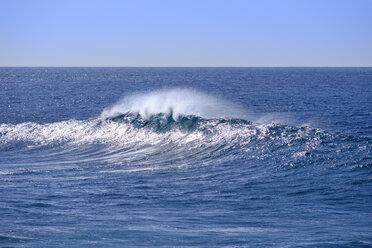 Spain, La Gomera, Atlantic Ocean, wave - SIEF07705