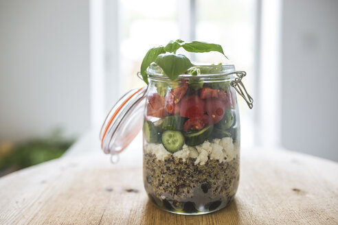 Jar with salad to go - ASCF00802