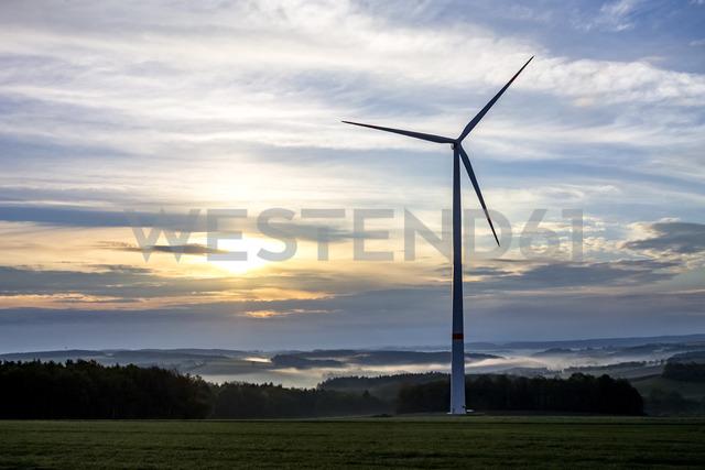 Germany, Hesse, Taunus, wind wheel - PUF01298