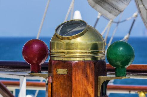 Thailand, Sailing ship, compass - THAF02137