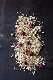 Chocolate fruit granola with dried raspberries - CSF28867