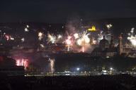 Germany, Bavaria, Wuerzburg, New Year's Eve - NDF00745
