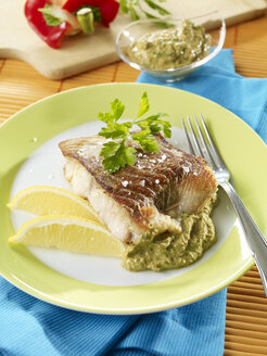 Coalfish fillet with spinach filling, low carb - SRSF00635