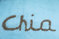 Chia seeds, word - MAEF12528