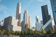 USA, New York City, 9/11 Memorial and World Trade Center Transportation Hub - SEEF00006