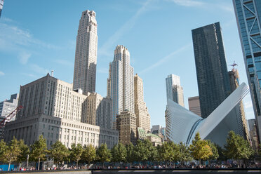USA, New York City, 9/11 Memorial and World Trade Center Transportation Hub - SEEF00006